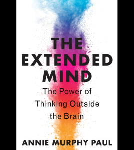 """Book cover of """"The extended mind""""."""